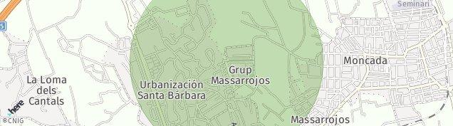 Mapa Urbanitzacio Santa Barbara