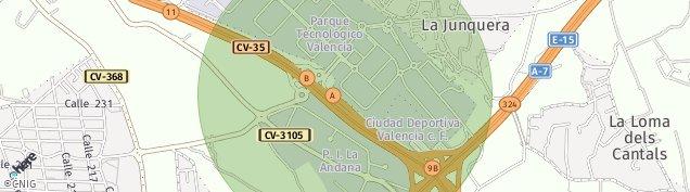 Mapa Urbanizacion Cumbres de San Antonio