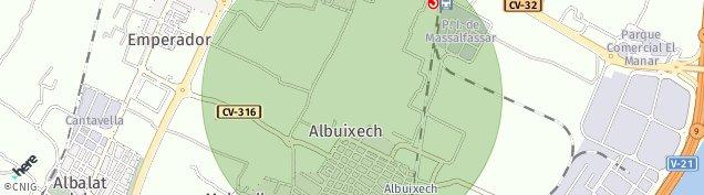 Mapa Albuixech