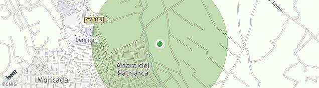 Mapa Moncada
