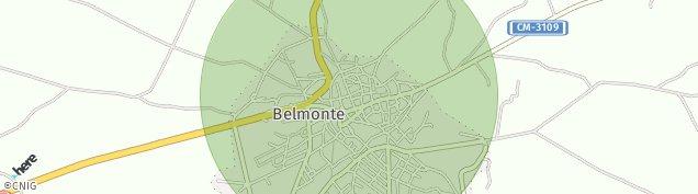 Mapa Belmonte