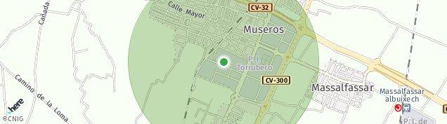 Mapa Museros