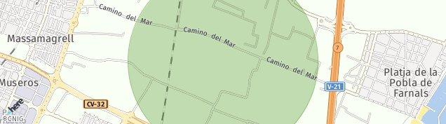 Mapa Massamagrell