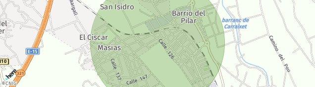 Mapa Masias