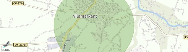 Mapa Vilamarxant