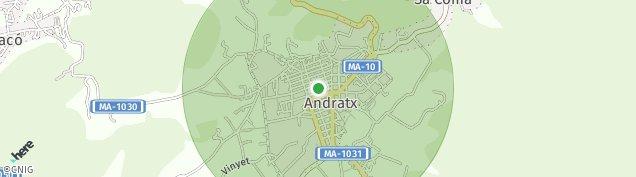 Mapa Andratx