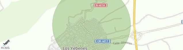 Mapa Los Yébenes