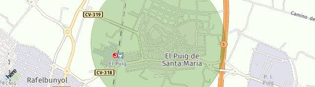 Mapa El Puig