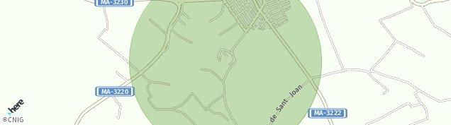 Mapa Sant Joan