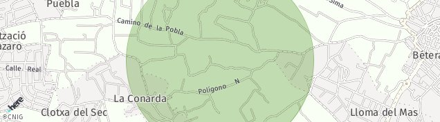 Mapa Urbanizacion Benagolf