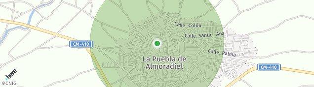 Mapa La Puebla de Almoradiel