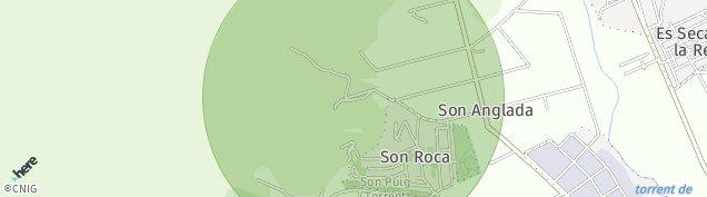 Mapa Barri Son Roca-Son Ximelis