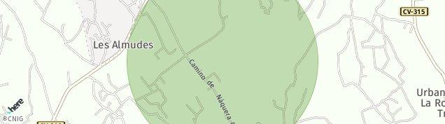 Mapa Urbanitzacio Vall de Flors
