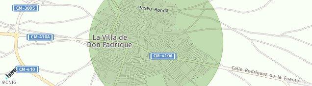 Mapa La Villa de Don Fadrique