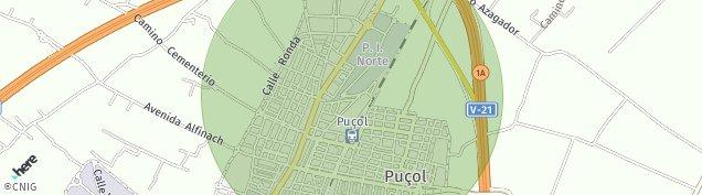 Mapa Puçol