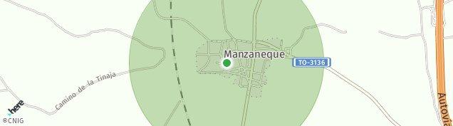 Mapa Manzaneque