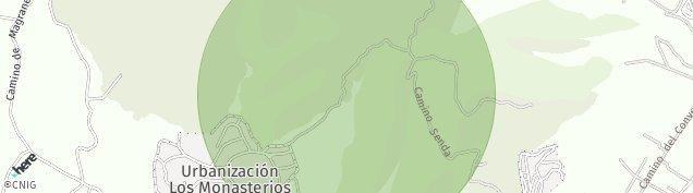 Mapa Santo Espiritu del Monte
