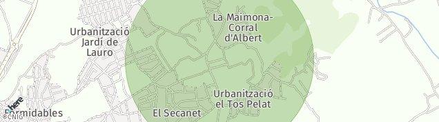 Mapa Llíria