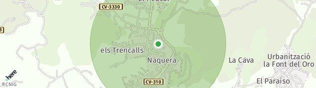 Mapa Náquera