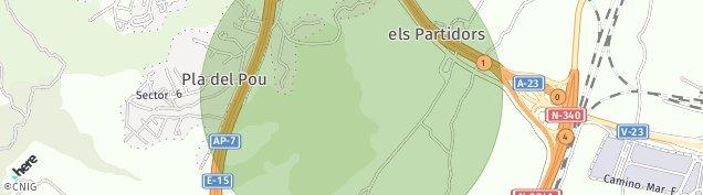 Mapa Petrés