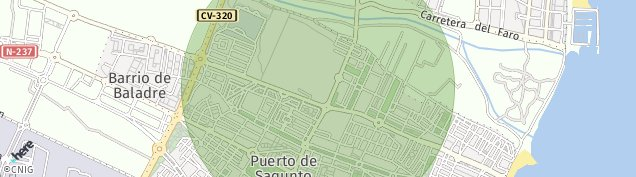 Mapa Puerto de Sagunto