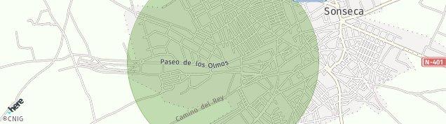 Mapa Sonseca