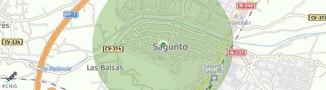 Mapa Sagunto