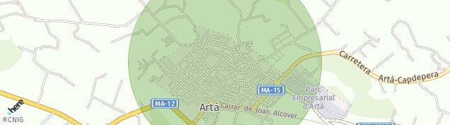 Mapa Arta