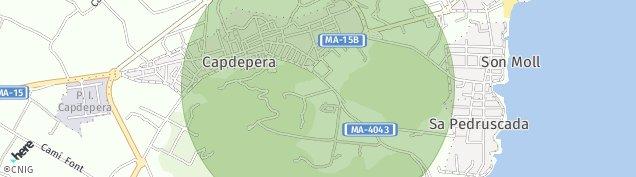 Mapa Capdepera