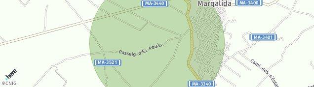 Mapa Santa Margalida