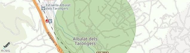 Mapa Estivella