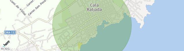 Mapa Cala Ratjada