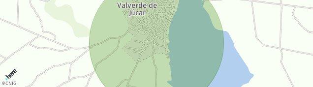 Mapa Valverde de Júcar