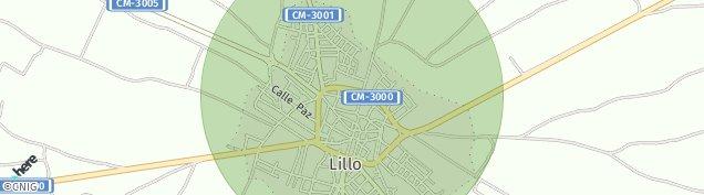 Mapa Lillo