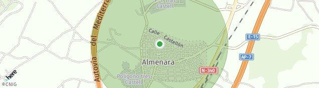 Mapa Almenara