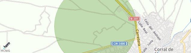 Mapa Corral de Almaguer