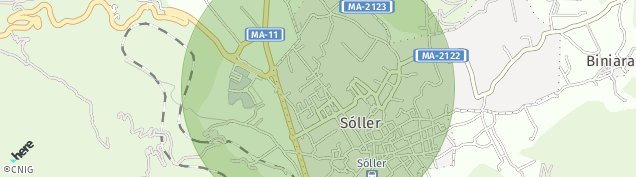 Mapa Sóller