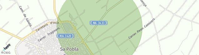 Mapa Sa Pobla