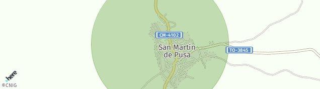 Mapa San Martín de Pusa