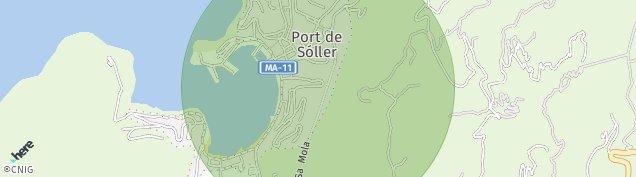 Mapa Port de Soller