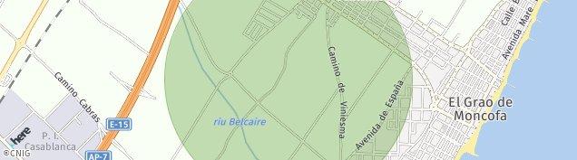 Mapa Moncofa