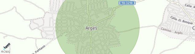 Mapa Argés