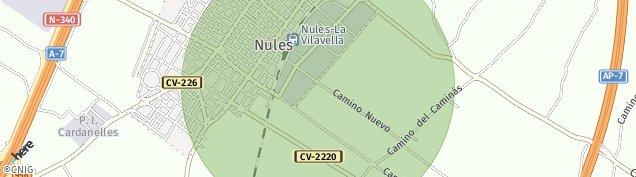 Mapa Nules