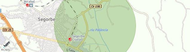Mapa Segorbe