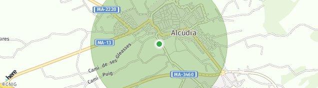 Mapa Alcúdia