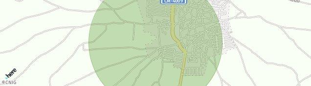 Mapa La Puebla de Montalbán