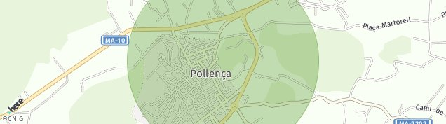 Mapa Pollença