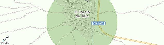 Mapa El Carpio de Tajo