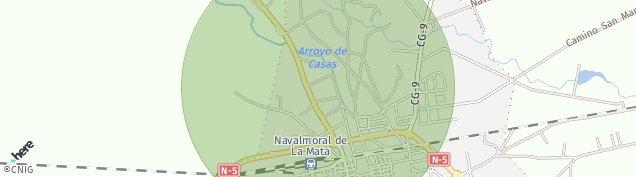 Mapa Navalmoral de la Mata