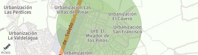 Mapa Bargas